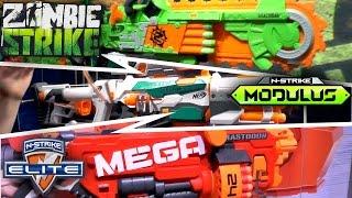 getlinkyoutube.com-Nerf 2016 (Summer, Fall) - Mega, Rivals, Modulus, N-Strike, Zombie Strike, Doom Lands