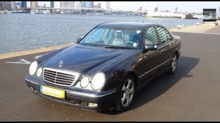 getlinkyoutube.com-Mercedes-Benz E Class 270 CDI Start Up Drive In Depth Review Interior Reving