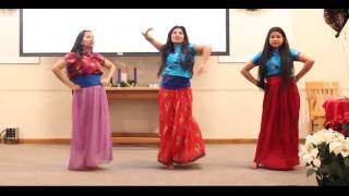 getlinkyoutube.com-Nepali Christian song yo mon bhari Dance by Naina, Susma and Prasana