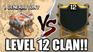 getlinkyoutube.com-Clash Of Clans | LEVEL 12 CLAN WAR! THIS IS INSANE! | HIGHEST LEVEL CLAN!