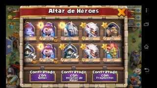 getlinkyoutube.com-Como conseguir heroes leyenda en el Castle Clash