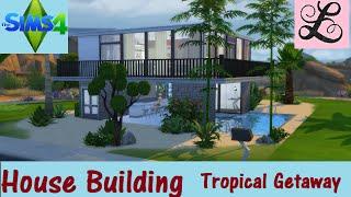 getlinkyoutube.com-The Sims 4: House Building: Tropical Getaway