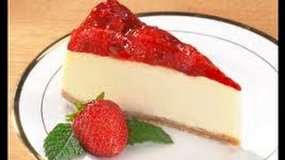 getlinkyoutube.com-How To Make The easiest CheeseCake اسهل طريقة لعمل تشيزكيك الفراولة