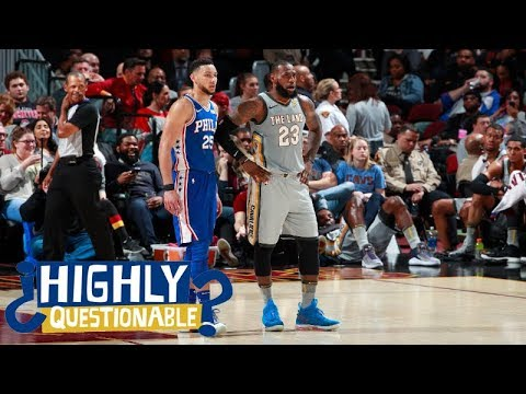 LeBron James is 'flirting' with the Philadelphia 76ers | Highly  Questionable | ESPN