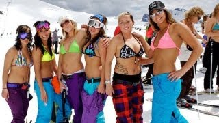 getlinkyoutube.com-Official Slush Cup 2012 | Sunshine Village | Ski & Snowboard Banff, Canada