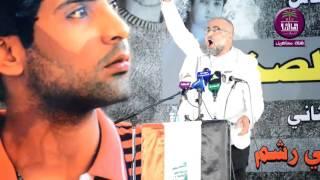 شاعر المقاومه عباس عبدالحسن :: مهرجان عريس جرف الصخر .. ملتقى المدينه الثقافي 2015