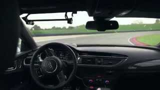 Behind the wheel of Audi's autonomous RS7 Piloted Driving Concept on the Race Track