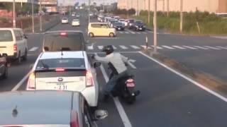 ROAD RAGE   栃木のDQN あばれる君