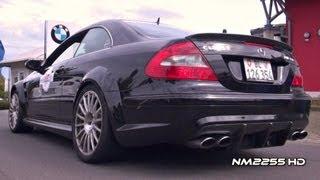 getlinkyoutube.com-Mercedes CLK63 AMG Black Series Exhaust Note!