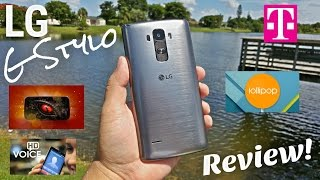 "getlinkyoutube.com-LG G Stylo T-Mobile [Full Review] 4G LTE - NFC - 2GB/16GB - 5.5"" HD - 2900mAh - 5MP/13MP"