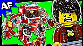 getlinkyoutube.com-Lego Movie RESCUE REINFORCEMENTS 70813 Stop Motion Review