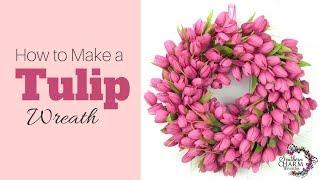 getlinkyoutube.com-How to Make a Tulip Wreath