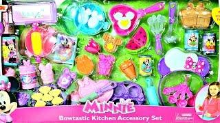 getlinkyoutube.com-50+Accesorios para cocina de Juguete Minie Mouse Kitchen Play Doh Cupcakes|MDJ