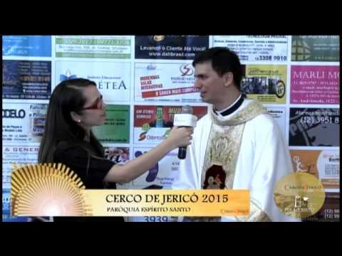 Cerco de Jericó 2015 - Entrevista - Padre Rodrigo Natal - 05/01/2015