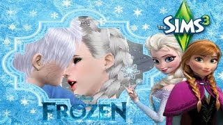 The Sims 3 Frozen #6 เอลซ่า แจ็คฟรอสต์ Get Married