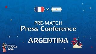 FRANCEW vs ARGENTINE - Argentina Pre-Match Press Conference