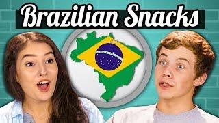 getlinkyoutube.com-TEENS vs. FOOD - BRAZILIAN SNACKS