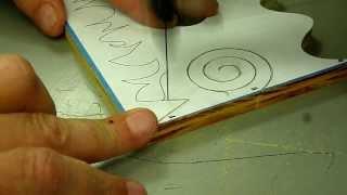 getlinkyoutube.com-Scroll Saw Cutting for Beginners Pt 2