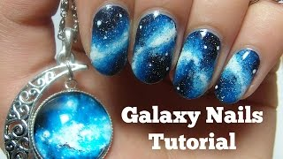 getlinkyoutube.com-Galaxy Nails Tutorial | Nails By Kizzy