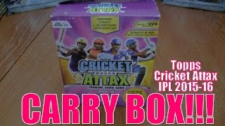 getlinkyoutube.com-COMPLETE CARRY BOX OPENING! ☆ Topps CRICKET ATTAX Indian Premier League 2015-16 Trading Cards