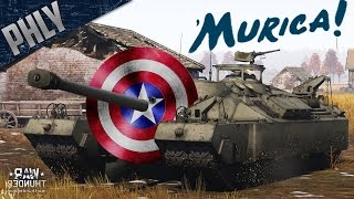 SHIELD OF AMERICA - T-95 Super Heavy Tank (War Thunder Tank Gameplay)