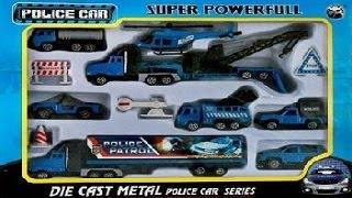 getlinkyoutube.com-POLICE PATROL. 911. POLICE CARS TOYS. Cars from die cast metal. Полицейский патруль.