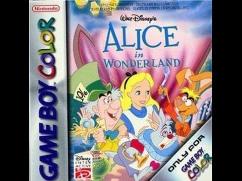 Gaming Paraphilia: Playing a little bit of Alice in Wonderland GBC