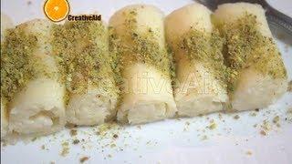 getlinkyoutube.com-طريقة عمل حلاوة الجبن المحشية بالقشطة