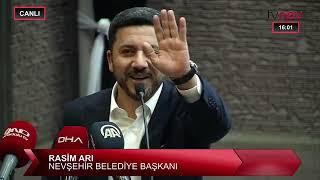 Nevşehir Belediye Başkanı Rasim Arı bu sözlerle istifa etti