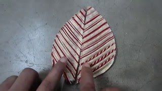 getlinkyoutube.com-How to make Leaf Design,/Fashion Design