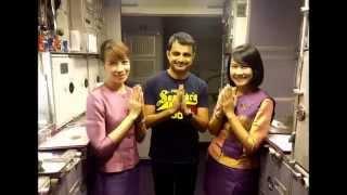 getlinkyoutube.com-Hongkong - Mumbai via Bangkok Thai Airways Economy Class