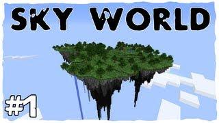 getlinkyoutube.com-Minecraft | Sky World | Episodul 1