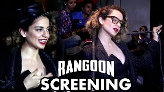 getlinkyoutube.com-Kangana Ranaut At Rangoon Special Screening
