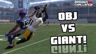getlinkyoutube.com-CAN I RECREATE THE ODELL BECKHAM CATCH OVER A GIANT?? Madden 16 Challenge