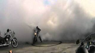 getlinkyoutube.com-Harley Davidson V-rod burnout