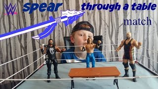 getlinkyoutube.com-wwe toys   fantasy  match   #7
