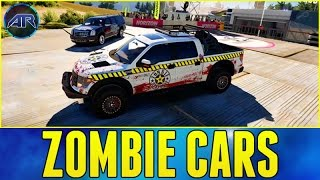getlinkyoutube.com-Forza Horizon 2 Online : ZOMBIE CAR CHALLENGE!!!