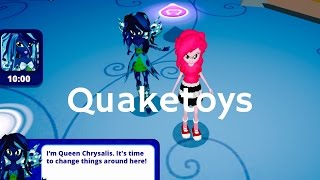 getlinkyoutube.com-New Update Equestria Girls App Queen Chrysalis Scan MLP Friendship Games My Little Pony Long Version
