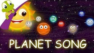 getlinkyoutube.com-The Planets Song - The Solar System Nursery Rhyme