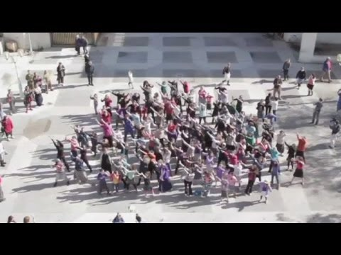 Flash-mob protests segregation of women in Israel - no comment