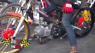 getlinkyoutube.com-HEBOH Dragbike Kharisma 130 tu INJEKSI broooo!! MB tech klaten!! drag bike GDS Klaten 2016