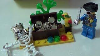 getlinkyoutube.com-enlighten 해적시리즈 독특한 해골 인형과 보물 피규어 레고 짝퉁 장난감 구입 조립기