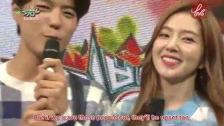 getlinkyoutube.com-[ForVelvetSubs] 150612 Music Bank MC Cut - Irene (eng)
