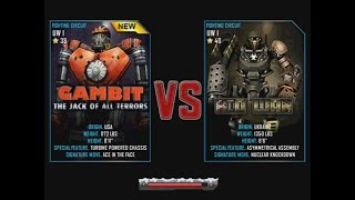 Real Steel WRB Gambit VS Bio War UNDERWORLD I NEW ROBOT Christmas updating