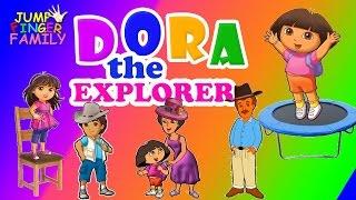 getlinkyoutube.com-Dora The Explorer Finger Family Nursery Rhymes