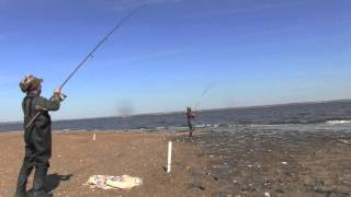getlinkyoutube.com-Agony Outdoors: How to-Surf Fishing/ Sandy Hook New Jersey