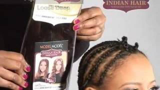 Indian Wet & Wavy Hair pt1