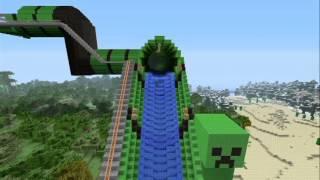 Minecraft Giant WaterSlide