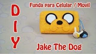 getlinkyoutube.com-FUNDA PARA CELULAR | JAKE THE DOG / EL PERRO | ADVENTURE TIME | DIY | MANUALIDADES - YuureYCrafts