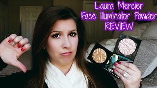 getlinkyoutube.com-Laura Mercier Face Illuminator Powder (NEW SHADES) - Review